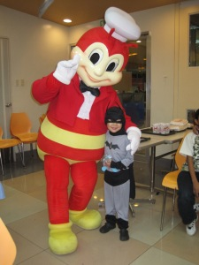 5th birthday with Jollibee